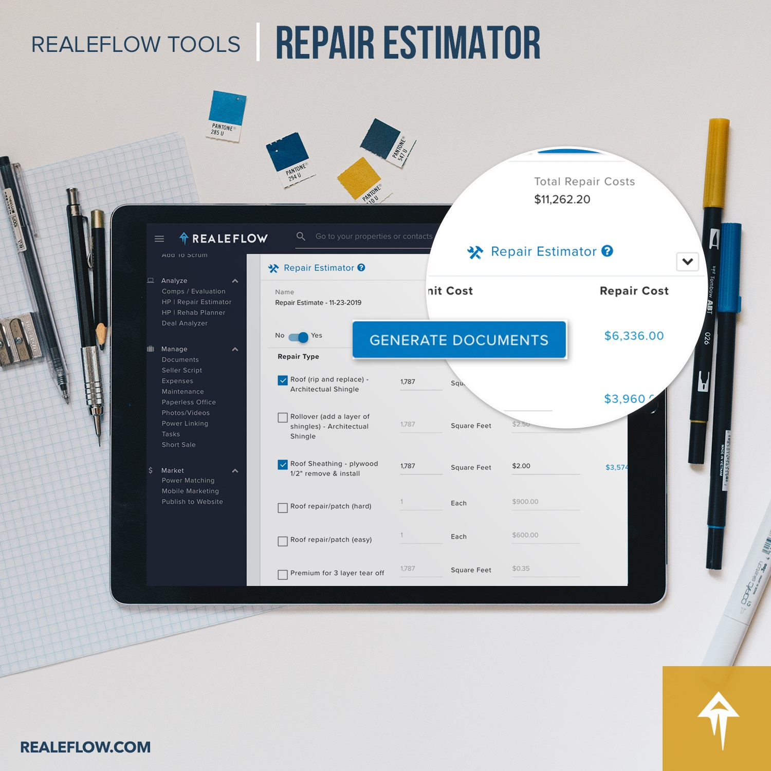 How to estimate repairs for wholesale deals in real estate