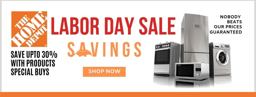 Home Depot has the best Labor Day Sale with exclusive discounts for investors, rehabbers, wholesalers, landlords, and Realtors.  Shop the sale now