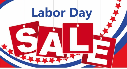 Labor Day Sale from national retailers.  Home Depot, Best Buy, and Staples