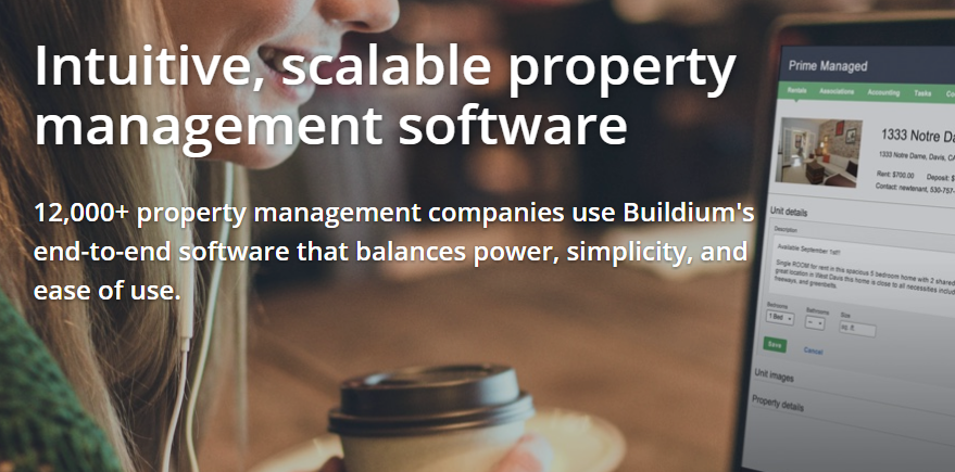 For a limited time get a free trial of Buildium property management software
