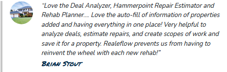 realeflow review for deal analyzer software