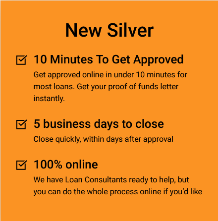 Get approved in 10 minutes and get a proof of funds letter instantly