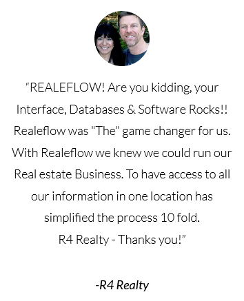 Realeflow, Your interface, Databases, and Software rocks!