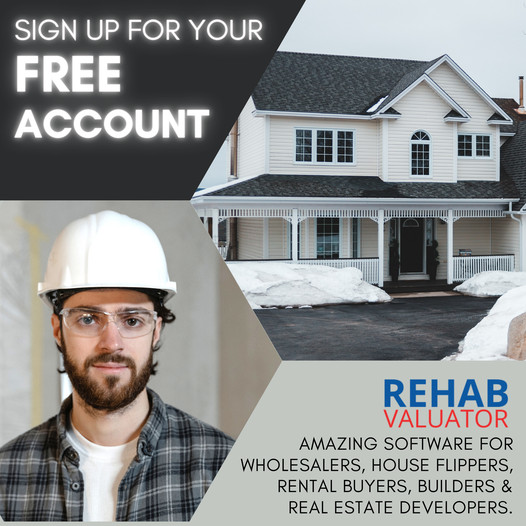 Get Your Free Trial Of Rehabvaluator Software To Take The Stress Out Of Flipping Houses