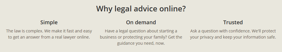 Rocket Lawyer online advice and asset protection from a Lawyer