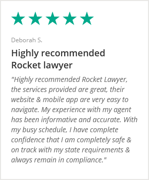 With my busy schedule, I have complete confidence that I am completely safe and on track with my state requirements and always remain in compliance. review by Deborah S.