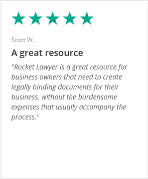 For business owners who need to create legally binding documents for their business without the burdensome expenses that usually accompany the process. review by Scott W.