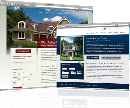 Use a Website to find motivates real estate seller leads