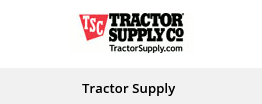 Get discounts from Tractor Supply